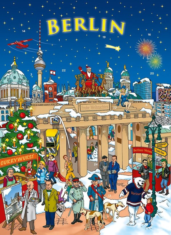 Schoko-Adventskalender Berlin